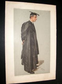Vanity Fair Print 1903 Hubert Burge, Teacher